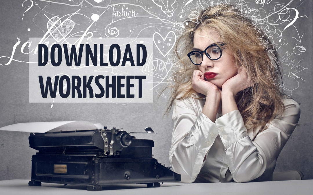 Seal Your Own Fate Worksheet Download Page is now working